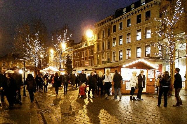Christmas Market, St Ann's Square
