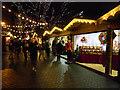 SJ8398 : Manchester Christmas Market, Brazennose Street by David Dixon