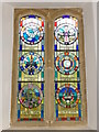 ST5312 : Stained glass window, St Michael's Church by Maigheach-gheal