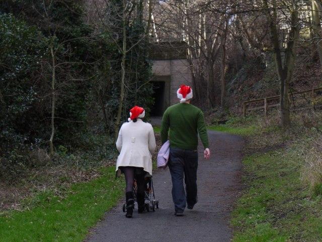 Christmas walk, Wylam waggonway