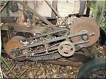 TG3204 : Robert Boby Ltd corn dressing machine, Rockland St Mary by Evelyn Simak