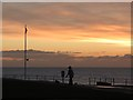 TQ7407 : The Promenade at sunrise by Oast House Archive