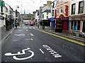 H4572 : A deserted High Street, Omagh by Kenneth  Allen