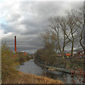 SD7707 : Manchester, Bolton and Bury Canal, Radcliffe by David Dixon