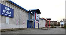 J2664 : Retail warehouses, Lisburn by Albert Bridge