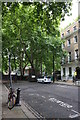 TQ3082 : Mecklenburgh Square: Coram's Fields entrance by Roger Templeman