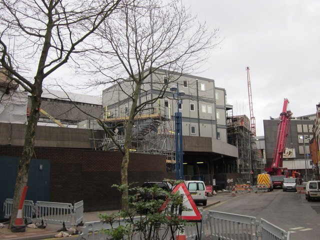 Birmingham New Street Station Redevelopment