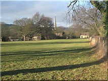 SK3463 : Ashover village from the south-east by Lesley Eddleston