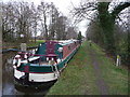 SJ4333 : Part of Lyneal Wharf on the Llangollen Canal by Jeremy Bolwell