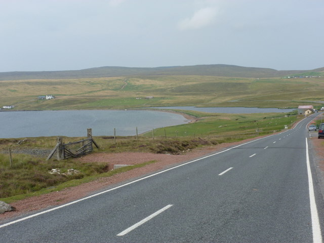 Urafirth: approaching on the A970