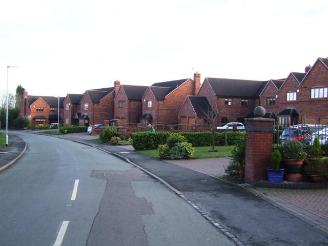 New housing on Jacob's Hall Lane