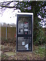 TG2218 : Chapel Road Telephone Box by Adrian Cable