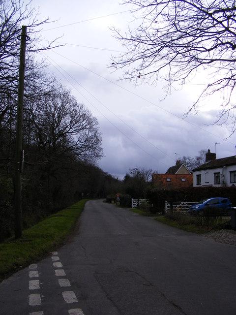 Hall Road, Hainford