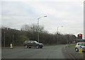 SO9063 : Road junction at start of Droitwich by pass by John Firth
