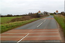 ST6288 : Western boundary of Alveston by Jaggery