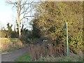 TL0196 : Public footpath to Yarwell by Christine Johnstone