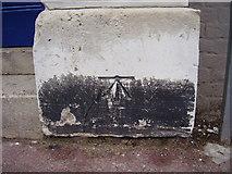 TR3752 : Ordnance Survey bolt in Queen Street by Shantavira
