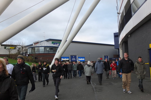 Boxing Day at the Reebok Stadium
