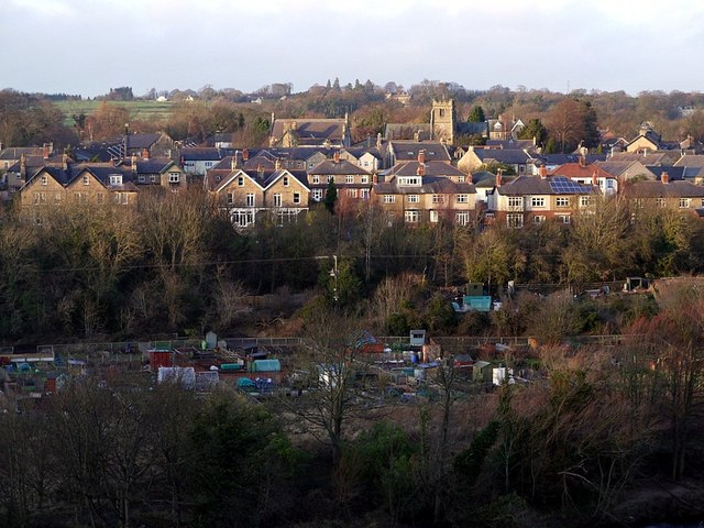 View of Wylam from the south