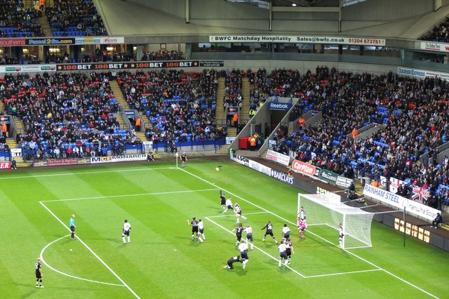 Boxing Day game at the Reebok Stadium