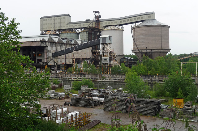 Chemical works, Northwich