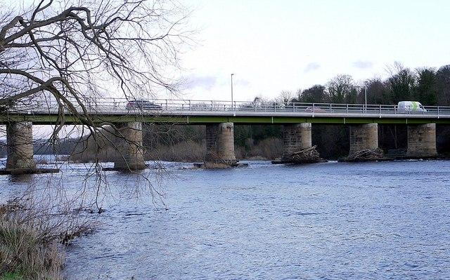 Wylam Bridge from the west