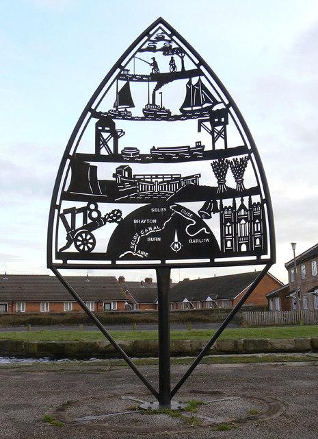 Canalside sculpture