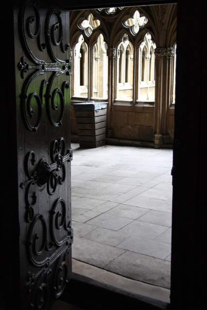 Chapter House door