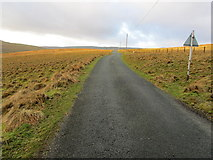 SD9170 : Moorland Road on Nab End by Chris Heaton