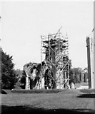 ST5038 : Glastonbury Abbey - 1909 by A. Wright