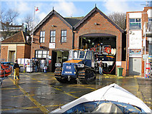 TA1280 : Filey Lifeboat Station by Pauline E