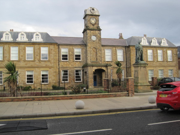 Former Police Station renamed Marquess Point; Listed building (Seaham)