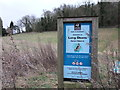 TL0805 : Sign: Long Deans Nature Park by PAUL FARMER