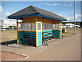 SX8960 : Seafront shelter by Philip Halling