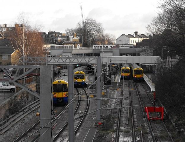 Highbury & Islington Station (Overground platforms)
