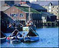NZ4057 : The old fish quay, Sunderland by Robert W Watt
