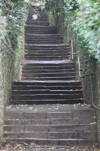 Torquay : Uphill Steps