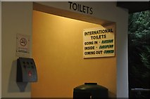 SX9265 : Torquay : Babbacombe Model Village - International Toilets by Lewis Clarke