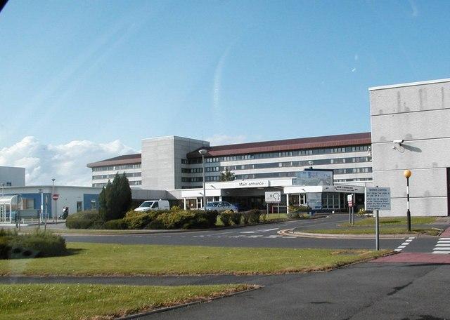 Crosshouse Hospital c 2004