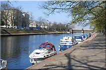 SE5952 : River Ouse, York by Michael Hutchinson