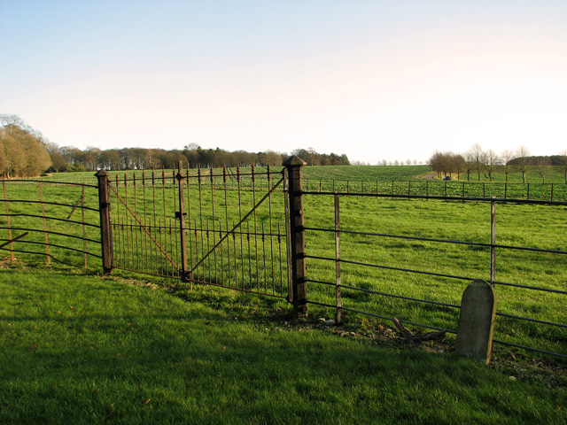 Fields by Raynham Hall