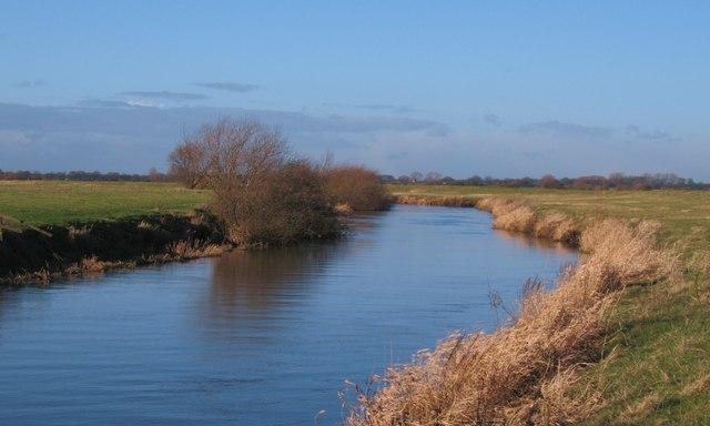 Upstream along the Derwent