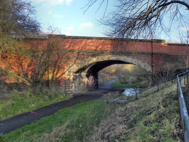 Bridge at Radcliffe Moor Road