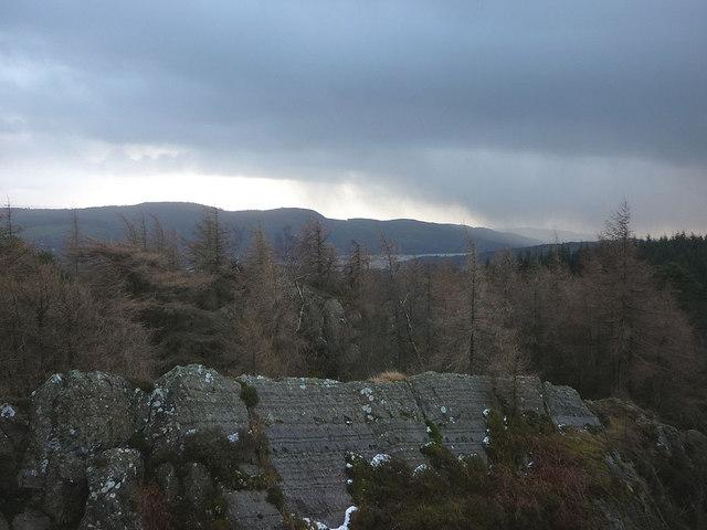 Summit view, Black Brows (268m)