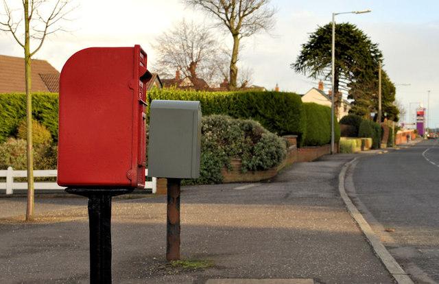 Letter box and drop box, Bangor