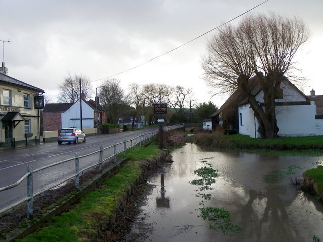 River Ebble and A354, Coombe Bissett (4/4)