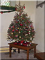 ST5963 : Christmas tree, The Church of St Mary the Virgin by Maigheach-gheal