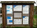 SN8968 : Notice Board, Craig Goch Dam, Elan Valley, Mid-Wales by Christine Matthews