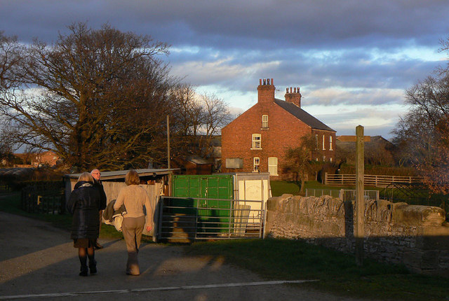 Manor Farm. Pollington