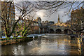 ST7564 : Pulteney Bridge - Bath (2) by Mike Searle